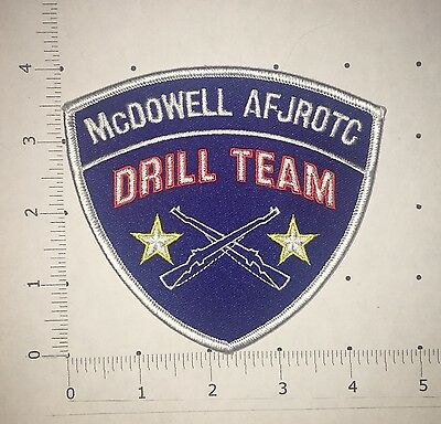 McDowell AFJROTC Drill Team Patch
