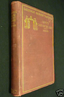 The Lady Of The Lake, Sir Walter Scott, 1904, HC