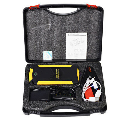 Portable Jump Starter 12V Car Battery Booster Kit 82800mah Super Power Charger