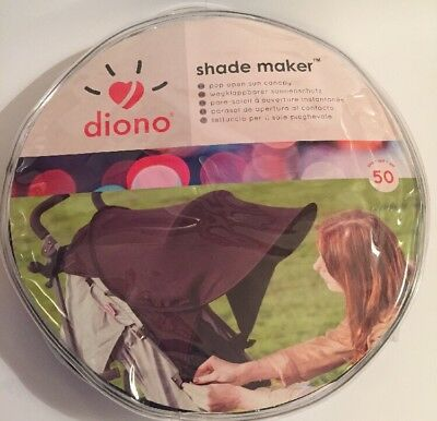 Diono Shade Maker Pop Open Sun Canopy NEW