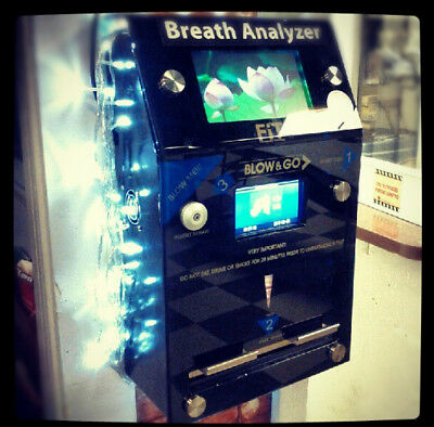 """CBAC 7"""" Multimedia Enabled Coin Operated Breathalyzer"""