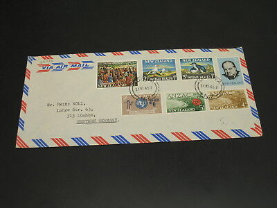 New Zealand 1965 airmail cover to Germany *30316