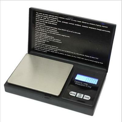 Pocket Digital jewellery Scale Weight 500gx 0.1g /200g x 0.01g Balance Gram AA