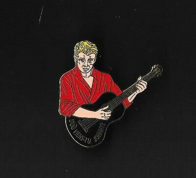 """Pin's """"johnny Halliday"""" - D'ou Viens Tu Johnny- Rouge - 200 Ex"""