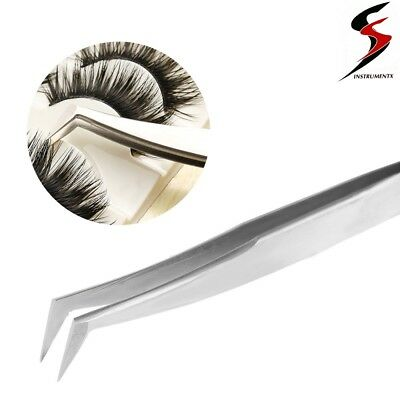 Eyelash Extension Tweezers for Russian 3D 6D Volume Lash Extensions L-Type 6A/SA