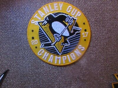Pittsburgh Penguins Patch - Iron On/Sew On (#4)