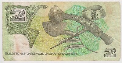 (N12-37) 1996 PNG 2 KINA bank note (A)