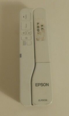 Epson Document Camera ELPDC06 Portable USB Powered With Case No USB Cable TESTED