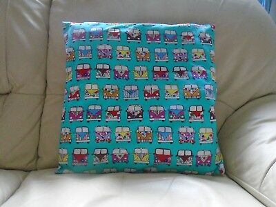 Campervan Cushion Cover Covers Buy 1,2 Or 4 Hand Made In Uk 41 Cm X 41 Cm New