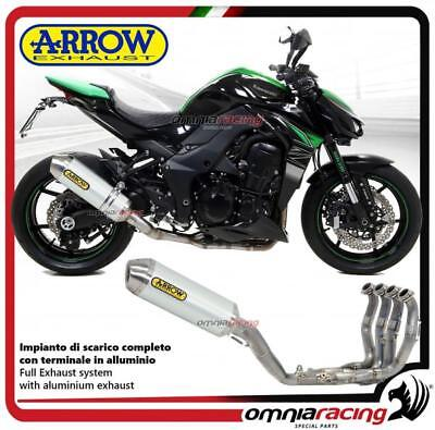 Arrow Komplett Auspuff Race-Tech Allu Racing Kawasaki Z1000 2017>
