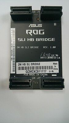 ASUS ROG 2m HB SLI Bridge neuwertig 2 Way