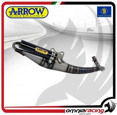 Arrow Komplett Auspuff Extreme Carbon gen Peugeot Speedfight 50 96>01