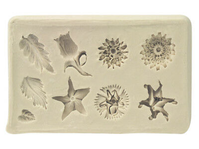Flexible Clay Mould Sculptural Flowers