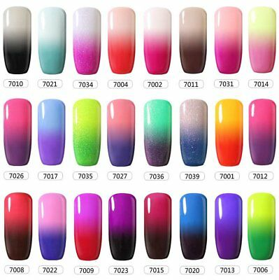 Belle Fille Temperature Mood Color Change Nail Gel Polish Soak Off Uv Manicure