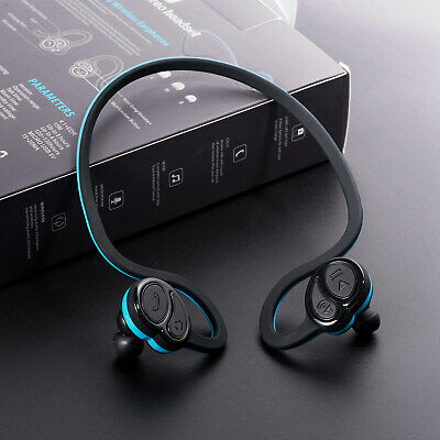 Noise Cancelling Wireless Bluetooth 4.1 Stereo Sports Headset Earpiece Headphone
