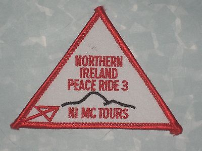 "Northern Ireland Peace Ride 3 Patch - 3 1/2"" x 2 1/2"""
