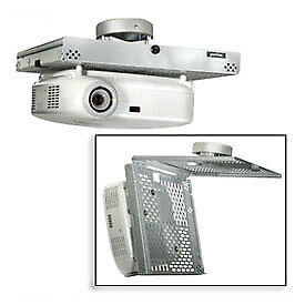 Universal Locking Projector Security Mount, White, Lot of 1