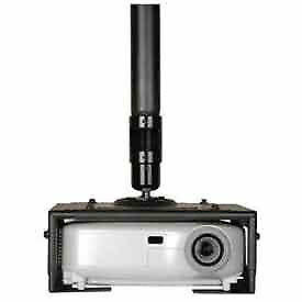 Projector Mount Kit with Large Clamp-Style Universal Adapter Plate, Lot of 1
