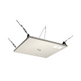 Variable Position Suspended Ceiling Kit, White, Lot of 1