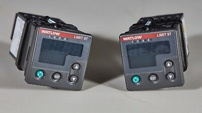 Watlow SD3C-LCJA-AARG Temperature Limit Controller 1//32 DIN 24VAC//DC