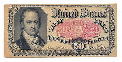Fr1381 50 Cent 5th Issue Fractional Currency