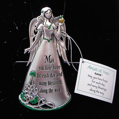 NEW Limited Edition IRISH Angel of HOPE Pewter Figurine from Ganz