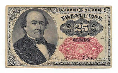 Fr1309 1874 25 Cent 5th Issue Fractional Currency