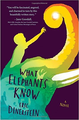 Dinerstein Eric-What Elephants Know  (US IMPORT)  HBOOK NEW