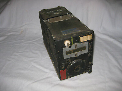 WWII ARC Aircraft Radio Transmitter CBY-52209 AN/ARC - 5 Unmodified