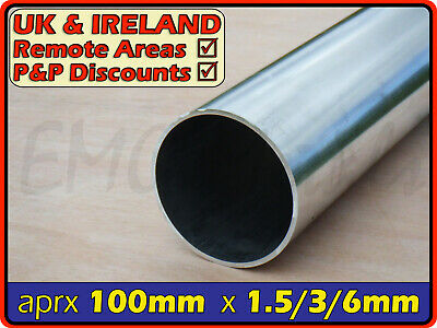 Aluminium Round Tube ║ 100mm - 102mm outside diameter ║ section,pipe,Internal OD