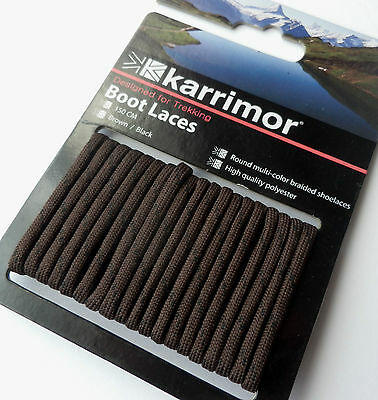 Karrimor BROWN 150cm Long Strong Durable Shoe Boot Laces Hiking Walking Work