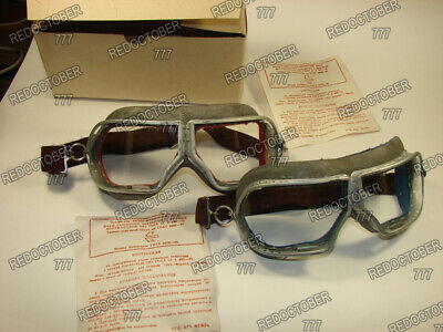 Protective eyewear genuine air force pilots and tank crews, Aviation,Goggles,WW2
