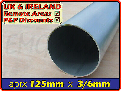 Aluminium Round Tube ║ 125mm - 127mm outside diameter ║ section,pipe,Internal OD