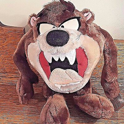 Tasmanian Devil Taz Looney Tunes with tags Plush Stuffed Applause 11 inches