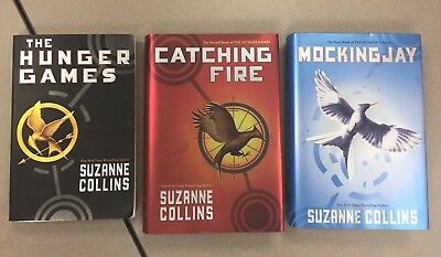 The Hunger Games Trilogy 2 HC 1 PB, Catching Fire, Mockingjay, Suzanne Collins
