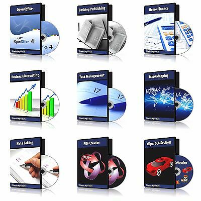 2019 Professional Office Suite DVD Compatible with MS Microsoft Word Processor