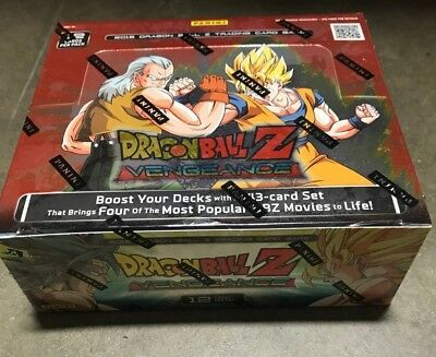 Dragon Ball Z Vengeance 1St Broly 24 Packs Panini Booster Box Brand New Sealed