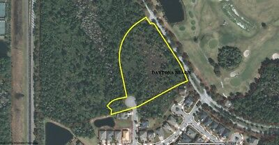 HUGE 5.7 Acre Lot Within an Affluent Residential Area of Daytona Beach, Florida!