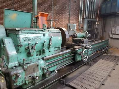 "30"" x 132"" (19')  MONARCH ""27N"" ENGINE LATHE W/TAPER ,CENTER REST & FOLLOW REST"