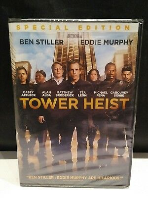 Tower Heist (DVD, 2012, Special Edition, Widescreen) Ben Stiller, Eddie Murphy