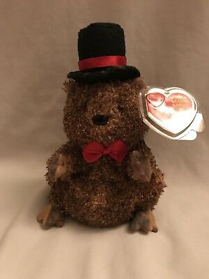 25c6d388e2f TY PUNXSUTAWNEY PHIL 2005 Groundhog Beanie Baby - Mint Tags - Coc Pa ...
