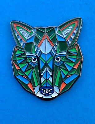 🐺SPACE WOLF PIN 1.0...dead co panic phish bassnectar pretty cheese mcgee moe