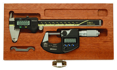 NEW MITUTOYO 64PKA077B Precision Measuring Kit, Digital, Friction FREE SHIPPING!