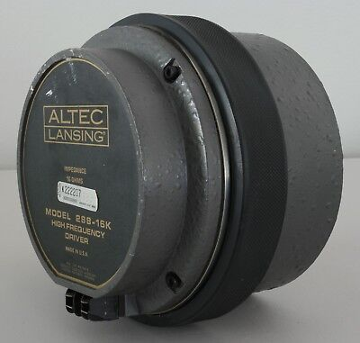 Altec Lansing 288-16K High Frequency Compression Driver ( S/N : 222207)