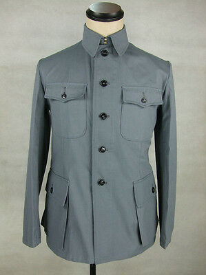 WW2 China Chinese KMT Soldier Field Enlisted Jacket Tunic Grey Gray