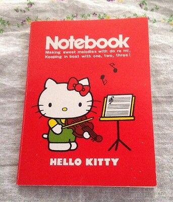 Vintage(1976) Sanrio Hello Kitty Notebook mini  Paper Happy Notes