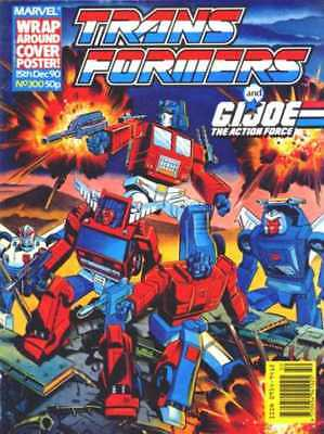 Transformers Uk Magazine Marvel- Lot Of 31 Issues; #20,62-67,69-76,84-93,300 ++