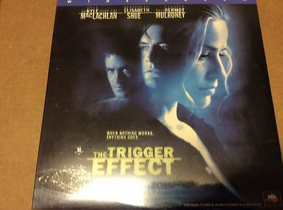 THE TRIGGER EFFECT 1996  Laser Disc  Widescreen THX  Surround   SEALED BRAND NEW