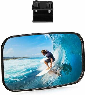 """Universal Marine Rearview Mirror Tube 8"""" x 4.5"""" For Boat Water Ski Watersports"""