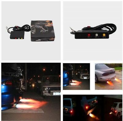 Auto Car Aircraft Exhaust Flame Thrower Kit Fire Burner Afterburner Kit So Cool